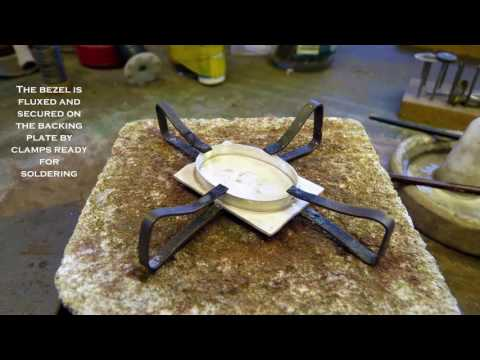 James Miller FIPG - Making a Cabochon Ring Tutorial