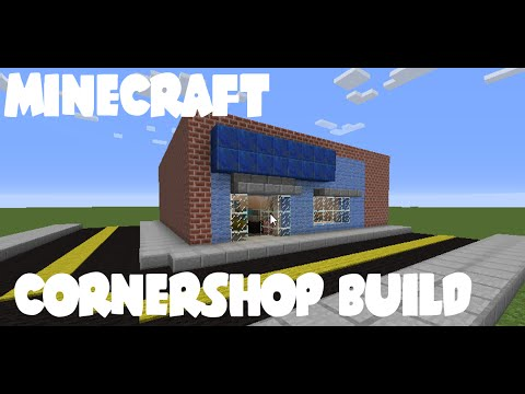 Minecraft Builds | Corner Shop