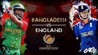 Bangladesh Vs England--Live---Champions Trophy--1st match--Live