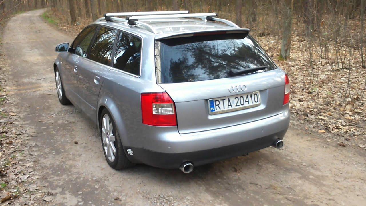 Audi A4 1.8t >> Audi A4 B6 1.8t downpipe - YouTube