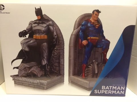 Superman/Batman Bookends Statue Review
