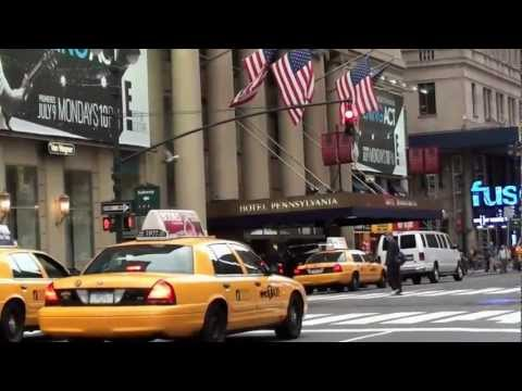 New York, Manhattan, Hotel Pennsylvania, Penn Station, Madison Square Garden