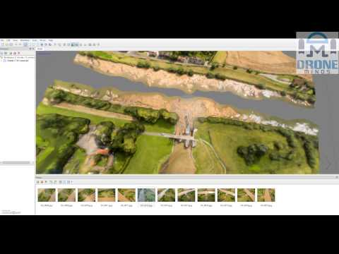 Creating a 3D Model with DJI Phantom 3 and Agisoft Tutorial