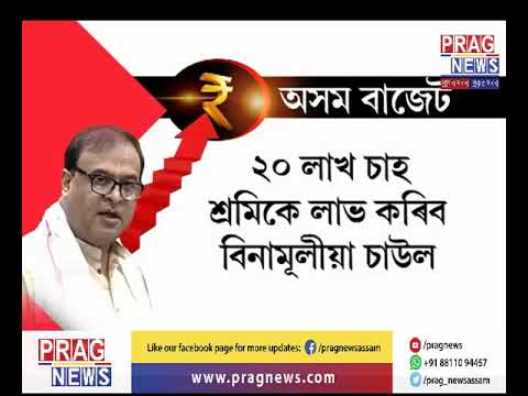 New Scheme announced by Himanta Biswa Sarma at Assam Budget 2019-20