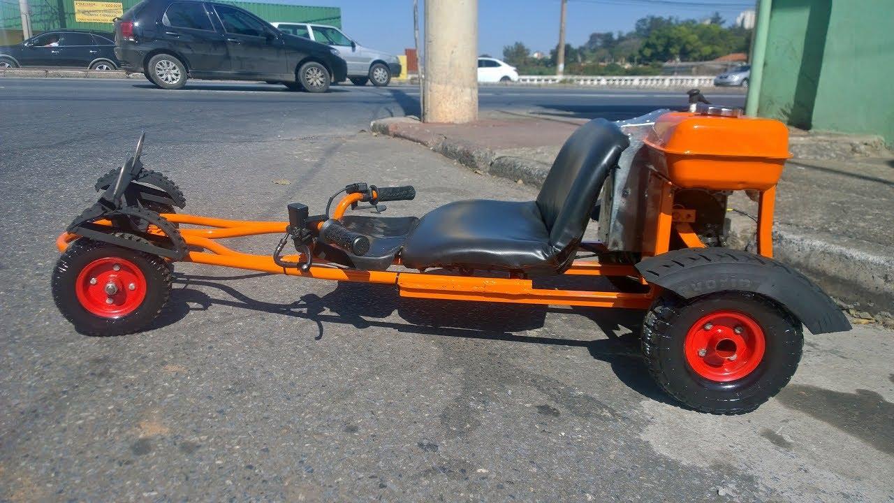 Super Carrinho de Rolimã com motor - YouTube EM45