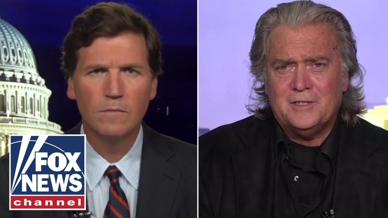 Steve Bannon gives first interview since his arrest exclusively on 'Tucker'