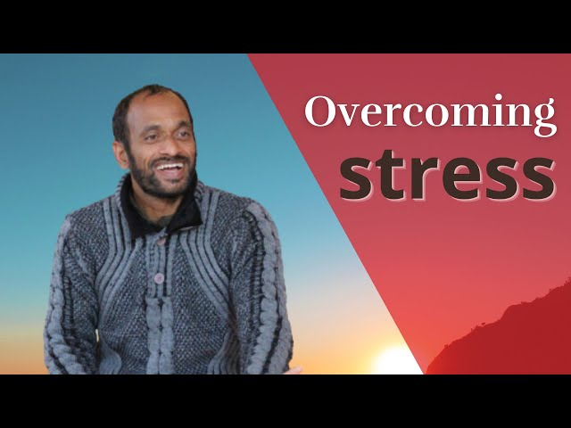 What is stress and how to solve it? Live satsang Vijay Gopala, 2nd of June 2019