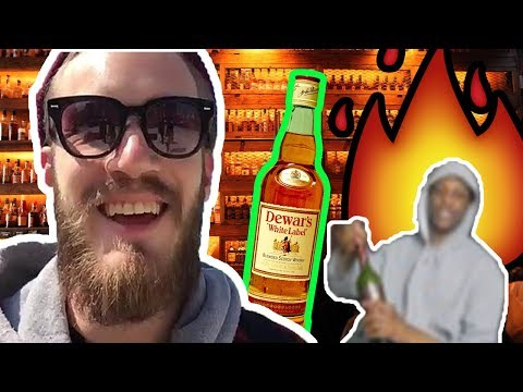 ITS ALL OVER NOW... (Bourbon Whiskey Review) PEWDIEPIE WHISKEY REACTION!
