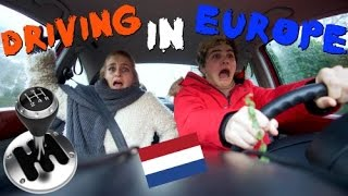AMERICAN DRIVES IN EUROPE FOR FIRST TIME!