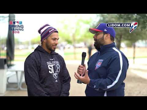 Leury García #SpringTraining2018 #LIDOM