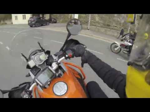 KTM 1050 Adventure Test deutsch 48ps Teil 1