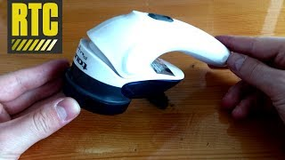 Fabric Shaver Taurus Perfect - Unboxing Electric Lint and Fuzz Remover for Clothes and Fabric