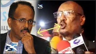 Deg Deg Faysal cali Waraabe oo kabaha la Koray MD Farmaajo Somaliland wey daneysatay ee somalia..