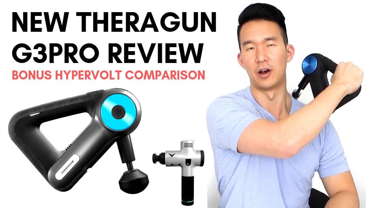 New Theragun G3pro Review Bonus Hypervolt Comparison