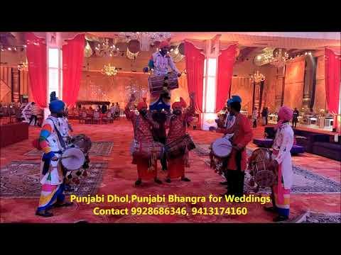 punjabi-dhol,punjabi-bhangra-for-weddings-contact-9928686346