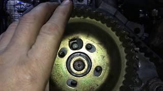 часть 10 Форд Транзит 2.5 дизель сборка мотора настройка зажигания