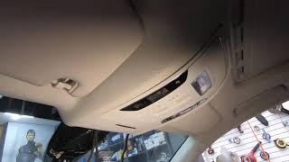 아우디 A6 차량의 순정 룸미러 브라켓 떨어짐으로 룸미…