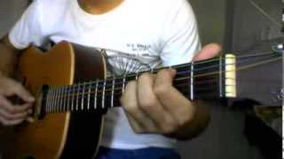 Tutorial Guitar When the children cry White lions (P1)
