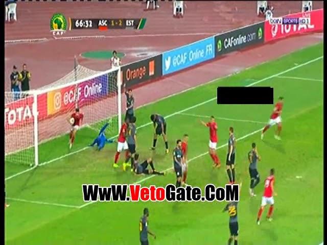 وليد آزارو يتعادل للأهلي أمام الترجي التونسي