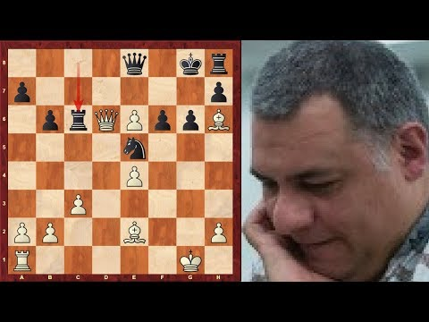Brilliant Chess Game: Positional Queen Sacrifice! - Gusev vs Averbakh - Moscow 1946 (Chessworld.net)