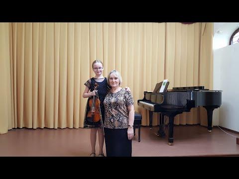 Мамот Софья Конкурс скрипачей имени Н.А. Гольденберга город Саратов