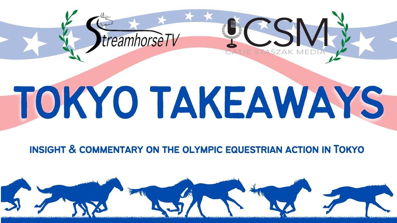 Tokyo Takeaways: Meet The Team Behind Dressage's Viral #Ravehorse Moment