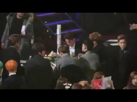 [160114] BTS Jimin & Red Velvet Seulgi Moment @ Seoul Music Awards