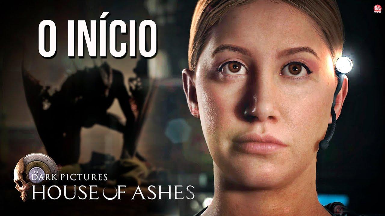 THE DARK PICTURES : HOUSE OF ASHES - O INÍCIO DE GAMEPLAY em PORTUGUÊS   PS5 4k 60fps