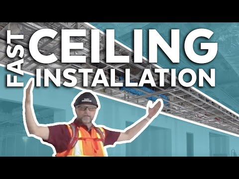 Fast Productive Ceiling Installation | Ceiling Case Study Jacksonville Florida | Armstrong Ceiling