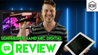 Amazing Lighting Microphone | Sennheiser Handmic Digital Review