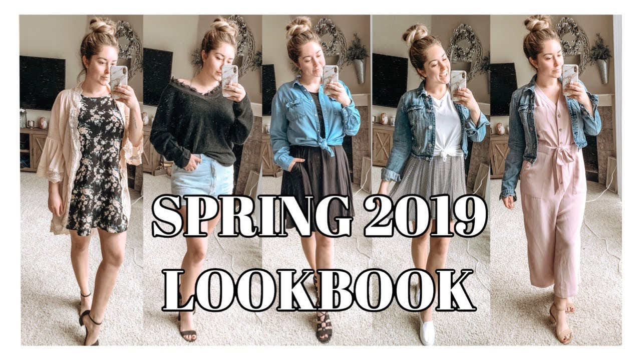 [VIDEO] – Spring/Summer LookBook 2019 | Spring Outfit Ideas |  #springoutfits2019