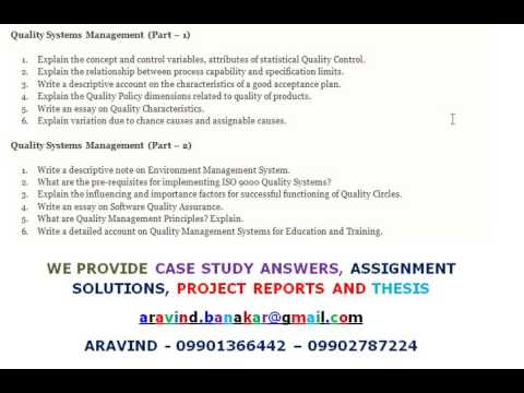 quality systems management write an essay on quality  quality systems management write an essay on quality characteristics