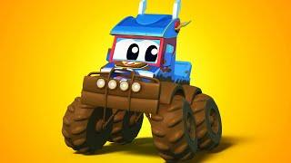 Truck Cartoons For Kids Mud Vs Monster Truck Super Truck In Car City