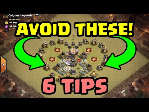 6 TIPS to AVOID ENGINEERED CLANS! | Get FAIR War Matchups! | Clash of Clans