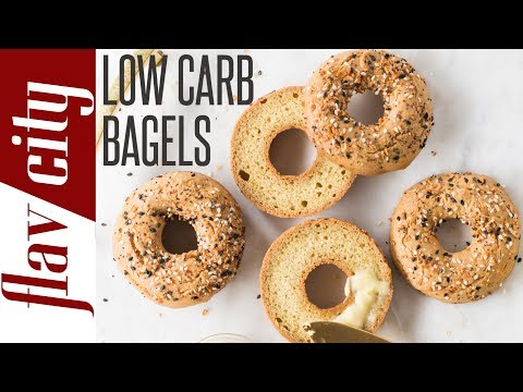 How To Make The Best Ever Keto Bagel - Low Carb Everything Bagel Recipe
