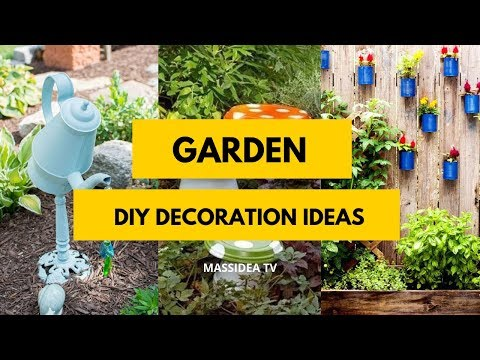 50+ Amazing DIY Garden Decoration Ideas from Pinterest