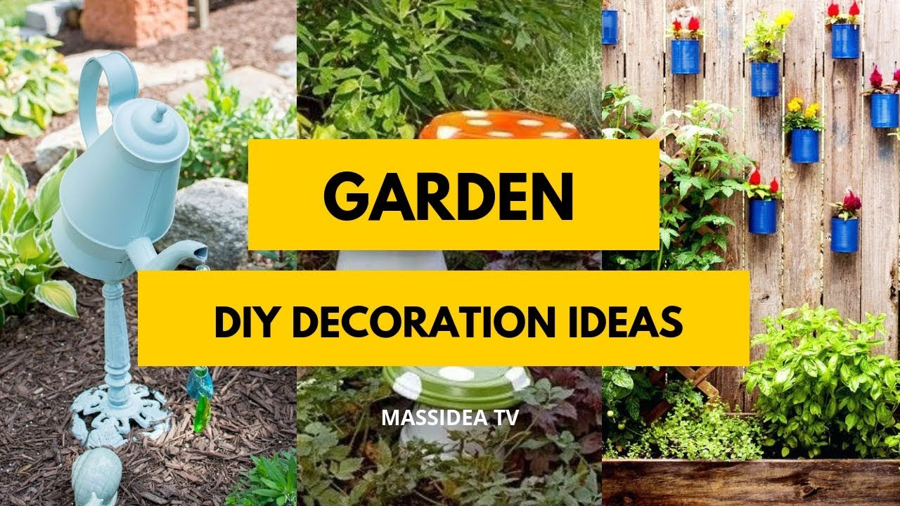 50 Amazing Diy Garden Decoration Ideas From Pinterest Youtube