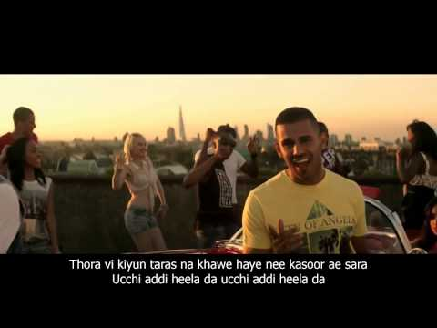 YO YO Honey singh HIGH HEELS FULL HD VIDEO  1080   JAZ DHAMI