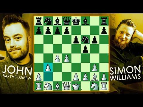 Chess Rivals #16: Rapid/Blitz/Bullet vs. GM Simon Williams