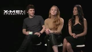 Люди Икс: Апокалипсис интервью с актерами / X-Men: Apocalypse interviews