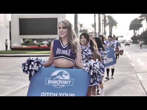 Huddle Vs. SharePoint - The Movie Trailer