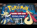 Pokémon: Trading Card Game Online - Trainer Challenge Tutorial Gameplay #1 | iOS RELEASE