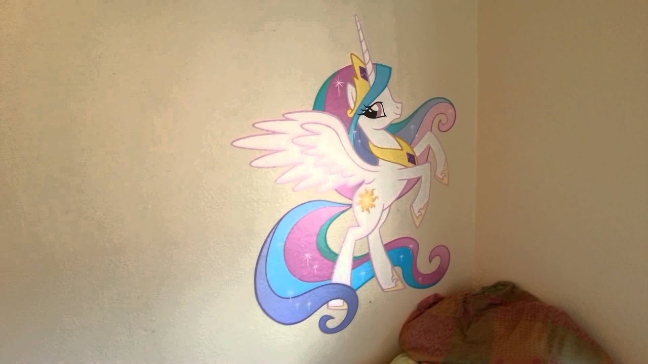 Fathead Wall Art My Little Pony Review  YouTube - Fat Head Wall Stickers