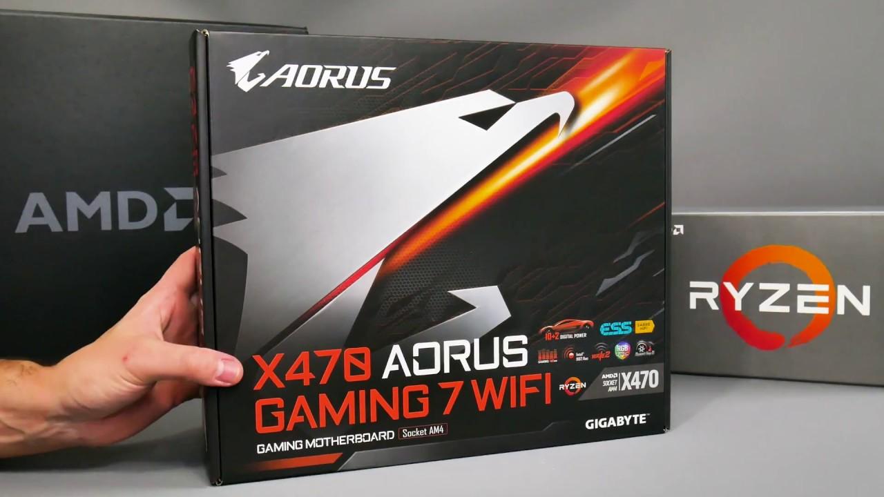 Gigabyte X470 Aorus Gaming 7 WiFi Unboxing: AM4 Ryzen 2nd Gen motherboard