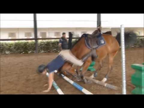 Upadki z koni 4