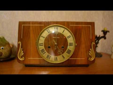 Часы Янтарь,каминные с боем. 1980 год