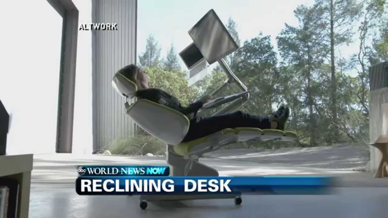 Futuristic Reclining Workstation Youtube