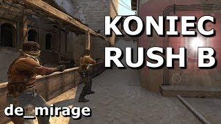 TEN SMOKE to koniec RUSH B na DE_MIRAGE!