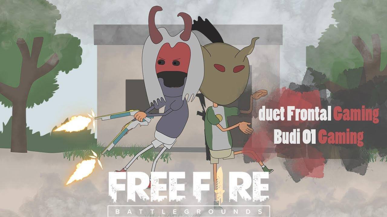 animation free fire - duet murid dan guru - frontal gaming ft budi 01 gaming versi animasi #16