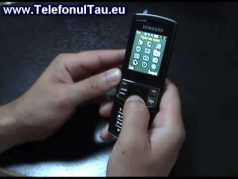 Samsung C3050 Review ( in Romana ) - www.TelefonulTau.eu -